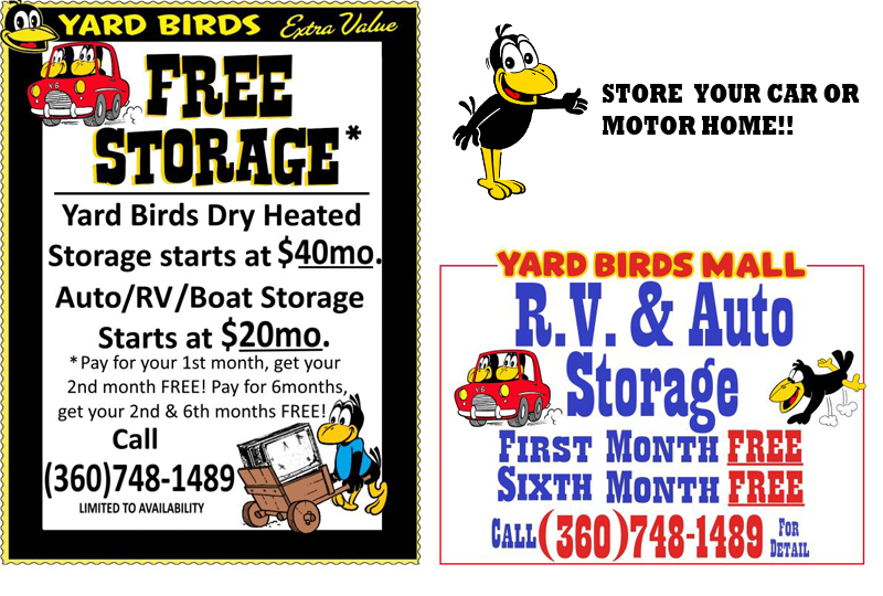 At Just 40 A Month And Rv Auto Boat Storage For Only 20 30 Get The First Free Contact Jason 360 748 1489 To Signed Up Today